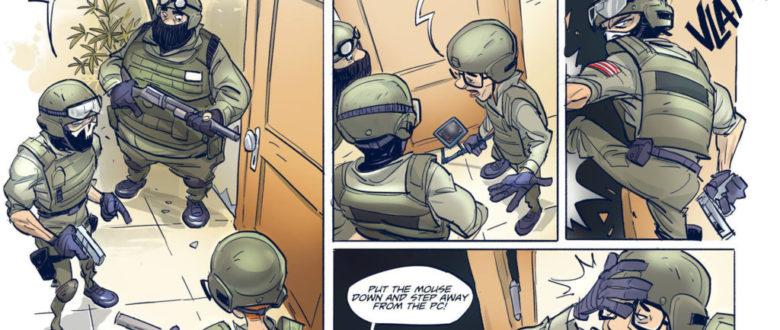 Door Kickers Comic #3