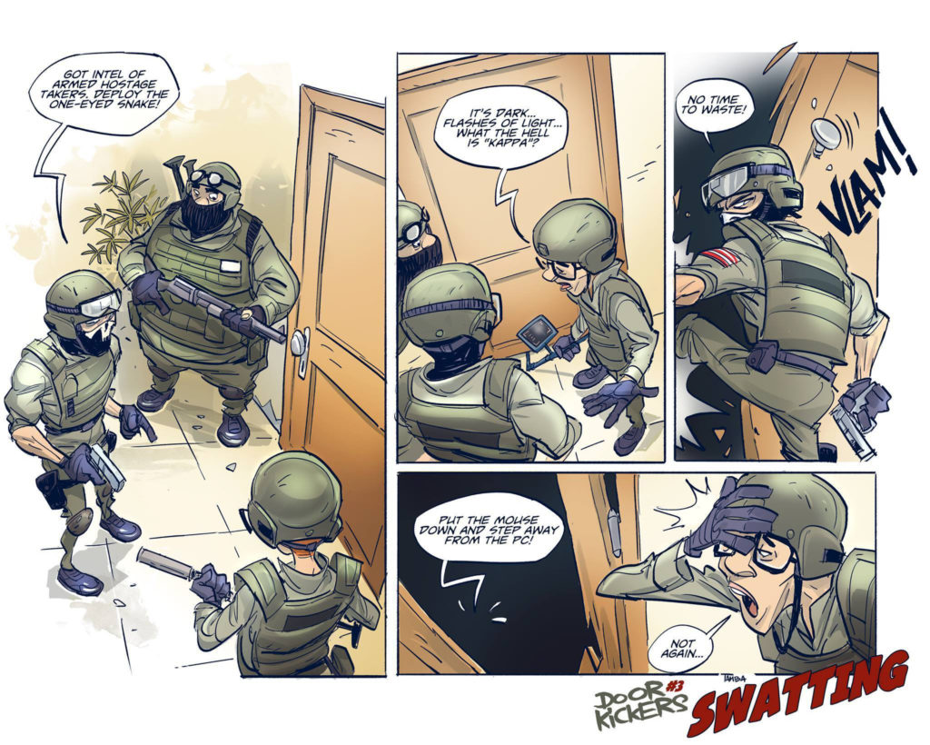 Door Kickers Comic #3